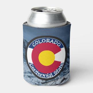 Colorado Circular Flag Can Cooler