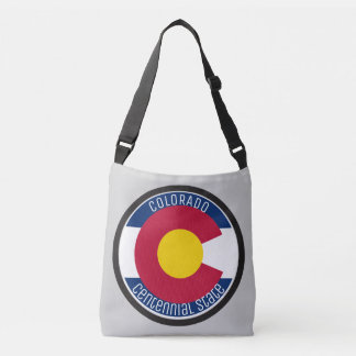 Colorado Circular Flag Crossbody Bag