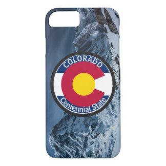 Colorado Circular Flag iPhone 8/7 Case