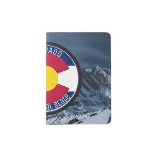 Colorado Circular Flag Passport Holder