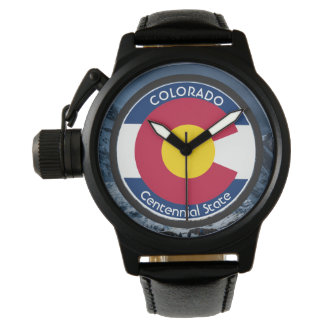 Colorado Circular Flag Watch