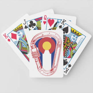 Colorado Climbing Carabiner Bicycle Playing Cards