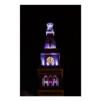 Colorado Clock Tower Poster