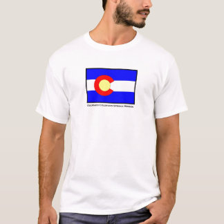 Colorado Colorado Springs LDS Mission T-Shirt