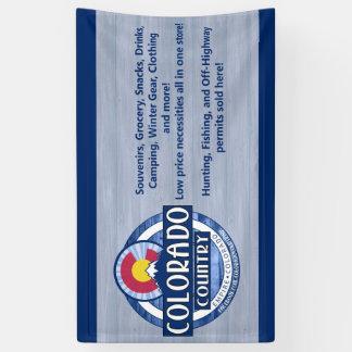 Colorado Country banner sign