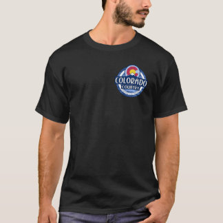 Colorado Country black double sided tshirt