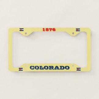 Colorado Custom License Plate Licence Plate Frame