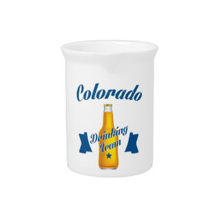 Colorado Drinking team Pitcher