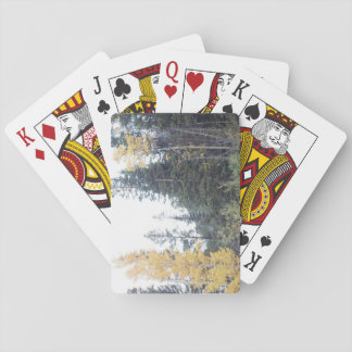 Colorado Fall in the Rockies Playing Cards