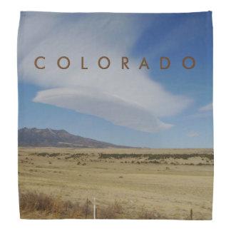 Colorado Feather Like Cloud Bandana