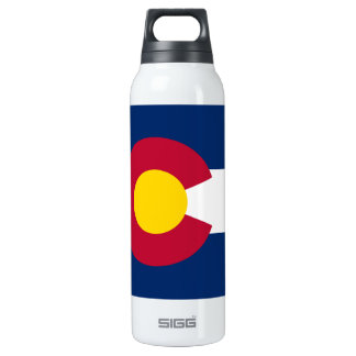 Colorado Flag 0.5 Litre Insulated SIGG Thermos Water Bottle