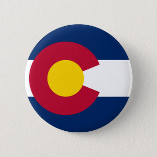 Colorado Flag 6 Cm Round Badge