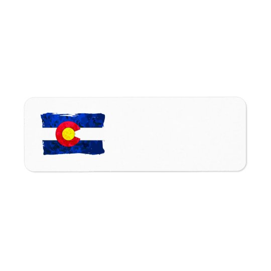 COLORADO FLAG Address Labels
