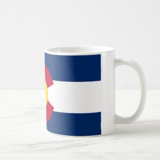Colorado Flag Basic White Mug