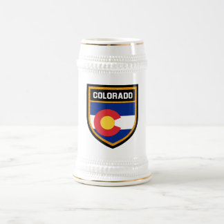 Colorado Flag Beer Stein