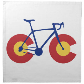 Colorado Flag Bicycle Napkin
