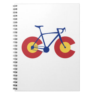 Colorado Flag Bicycle Notebooks