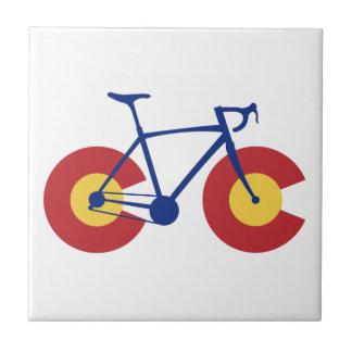 Colorado Flag Bicycle Tile