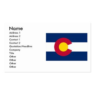 Colorado Flag Business Cards