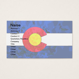 COLORADO FLAG Business Cards