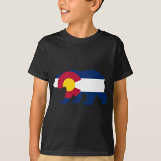 Colorado Flag California Bear T-Shirt