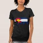 Colorado Flag California Bear T-shirts