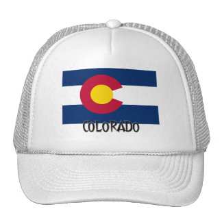 Colorado Flag Mesh Hats