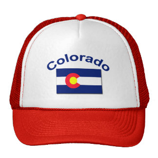 Colorado Flag Mesh Hat