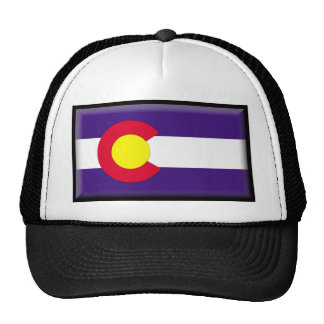 Colorado Flag Trucker Hats