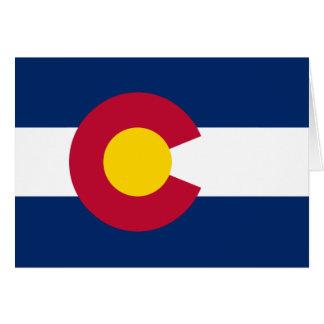 Colorado Flag Stationery Note Card