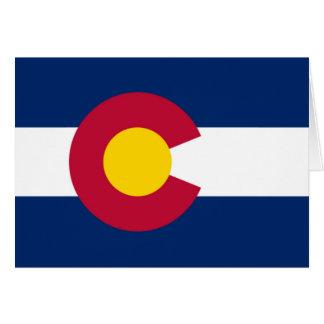 Colorado flag cards