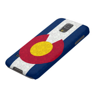 Colorado Flag Damask Pattern Case For Galaxy S5