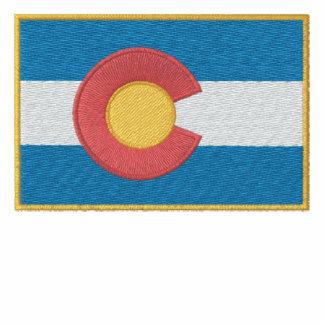 Colorado Flag Embroidered Shirts