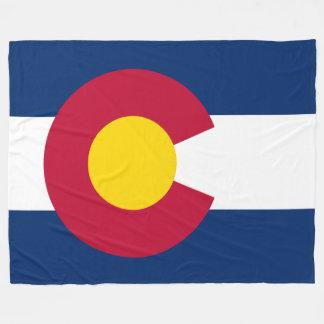 Colorado Flag Fleece Blanket