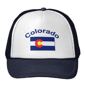 Colorado Flag Trucker Hats