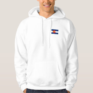 Colorado Flag Hooded Pullovers