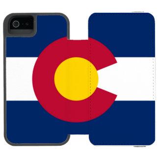 Colorado flag incipio watson™ iPhone 5 wallet case