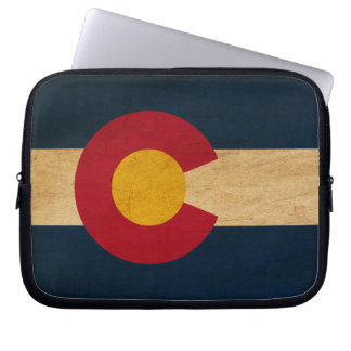 Colorado Flag Laptop Computer Sleeves