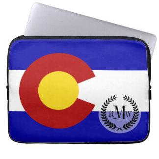 Colorado flag laptop sleeves