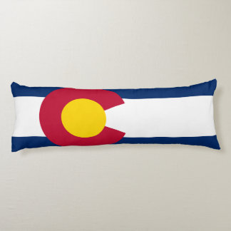 Colorado Flag Body Pillow