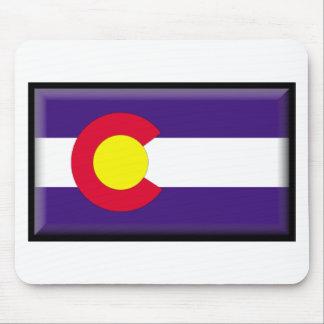 Colorado Flag Mouse Pads