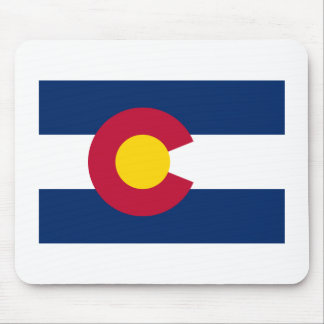 Colorado Flag Mouse Mat