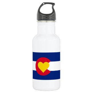 Colorado Flag 532 Ml Water Bottle