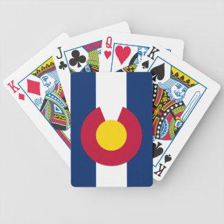 Colorado Flag Poker Deck