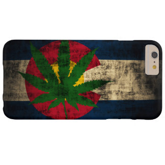 Colorado Flag Pot Leaf Barely There iPhone 6 Plus Case