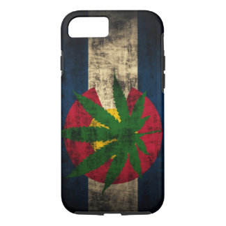 Colorado Flag Pot Leaf iPhone 7 Case