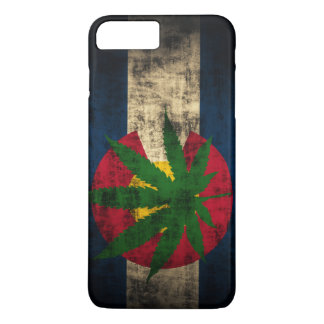 Colorado Flag Pot Leaf iPhone 7 Plus Case