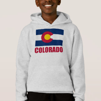 Colorado Flag Red Text