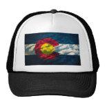 Colorado flag Rock Mountains Cap