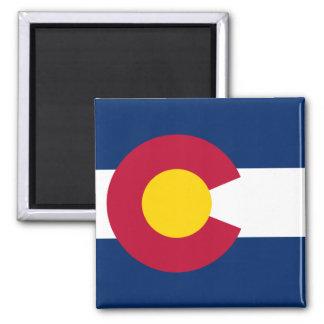 Colorado Flag Square Magnet